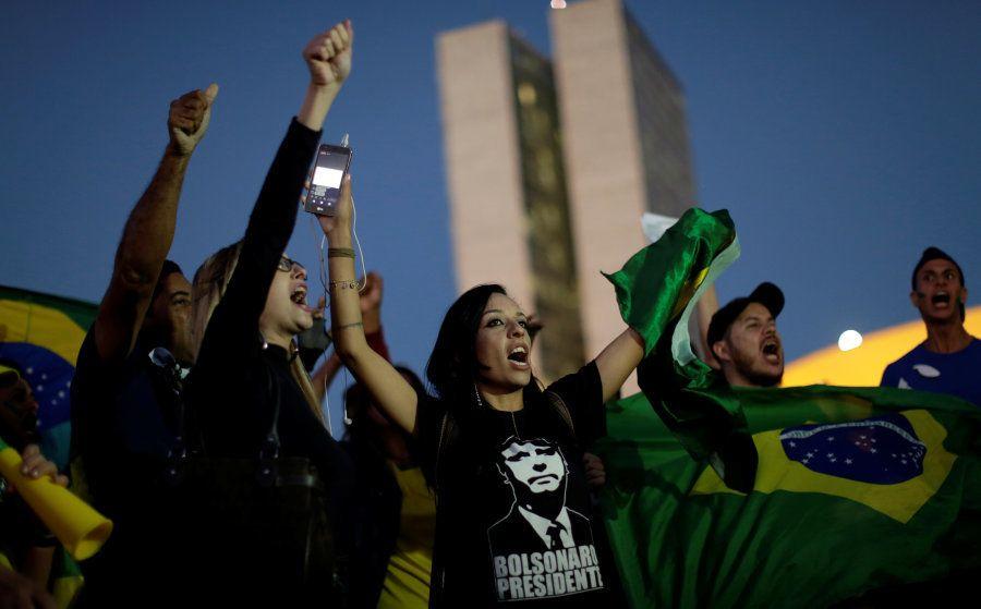 Manifestações contra o governo Temer e em apoio à greve dos