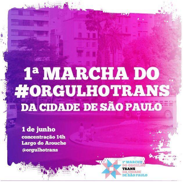 1ª Marcha do Orgulho Trans de São Paulo acontece em
