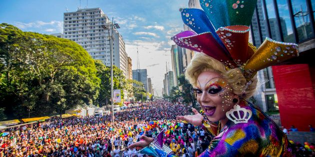 Junho é conhecido por ser o mês em que a população LGBT+ vai às ruas de diversas cidades no País em defesa dos seus direitos e em homenagem à comunidade. Foto: Getty Images.