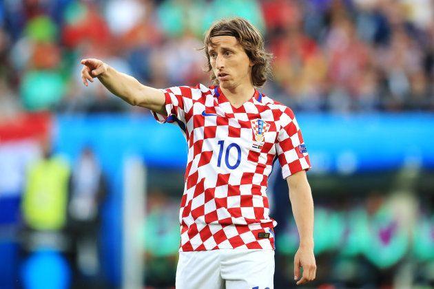 Luka Modric, do Real Madrid, é um dos principais talentos do meio-campo da