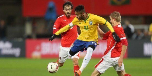 Neymar participará do amistoso contra a Áustria, mas, provavelmente, não durante todo o