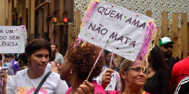 Em 2016, 4.645 mulheres foram assassinadas no país, o equivalente a uma taxa de 4,5 homicídios para cada...