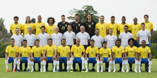 Foto oficial da Seleção foi divulgada a poucos dias do início da Copa do Mundo da