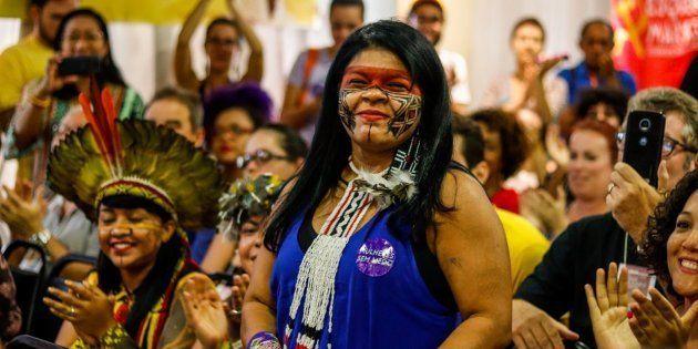 Sônia Guajajara é pré-candidata a vice de Guilherme