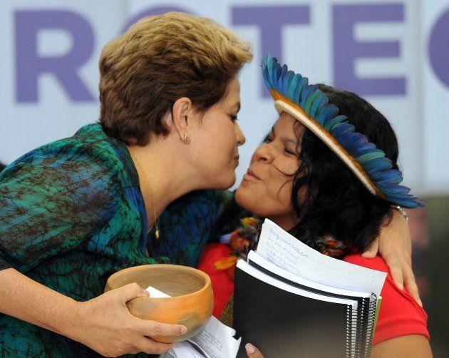 Dilma e Sônia, em junho de 2012. A presidente foi responsável por criar o Conselho Nacional de Política