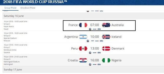 Horário dos jogos da Copa da Rússia: Maioria das partidas será às 9h, 12h e