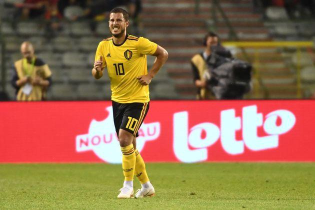 Eden Hazard, talento que representa a ótima geração belga na Copa da