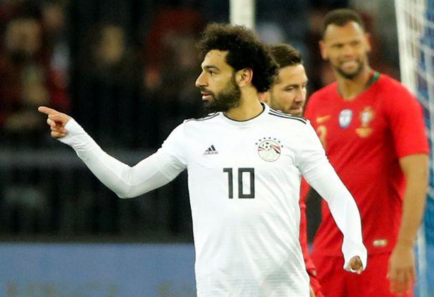 Salah: dores no ombro podem atrapalhar, mas talento o egípcio tem de sobra para usar a camisa