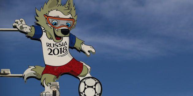 Zabivaka é o mascote oficial da Copa da