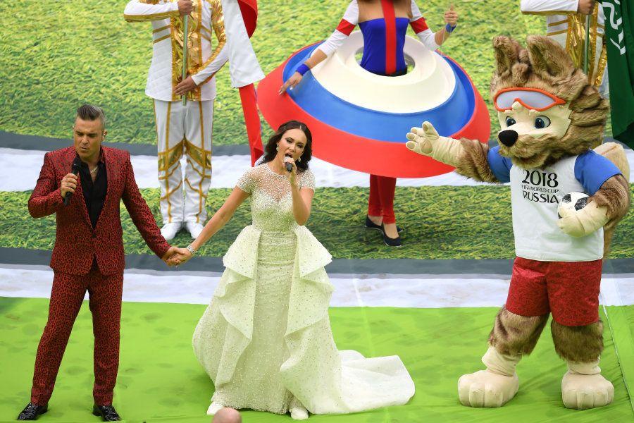Abertura da Copa da Rússia: As imagens da festa do início do Mundial em