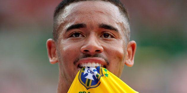 Gabriel Jesus é principal esperança de gols e, por isso, vestirá a camisa 9 do Brasil na