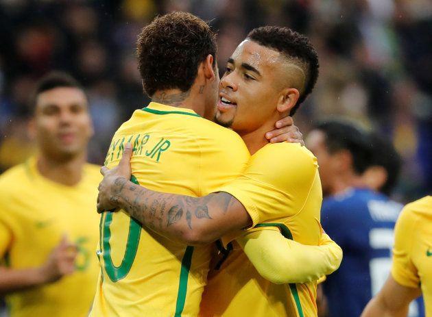 Neymar e Gabriel Jesus: Dupla é principal esperança do torcedor de ver a sexta estrela