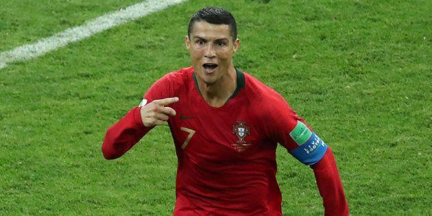 Cristiano Ronaldo foi o cara do jogo entre Portugal e Espanha: 3
