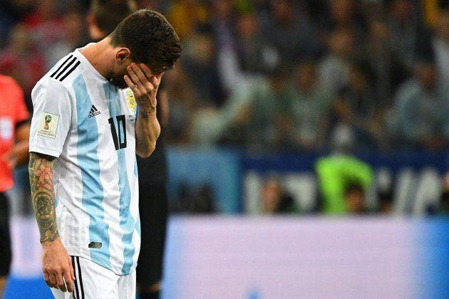 Argentina levou 3 a 0 da Croácia e está em situação delicada na