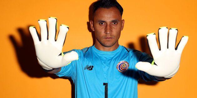 Keylor Navas é uma das armas da Costa Rica para voltar a surpreender rivais e complicar a vida do favorito