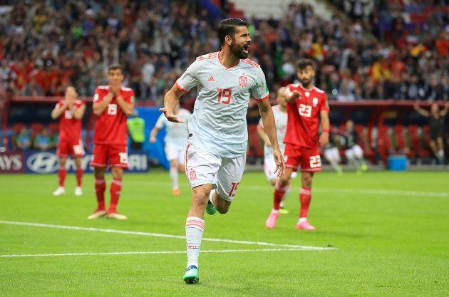 Diego Costa marcou e chegou aos três gols na artilharia do