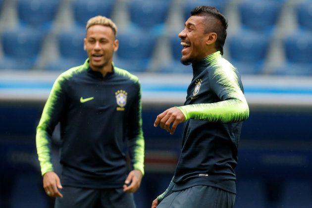 Neymar e Paulinho são armas para manter