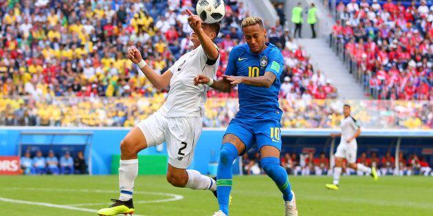 Brasil voltou aceso para o segundo tempo e criou boas chances de