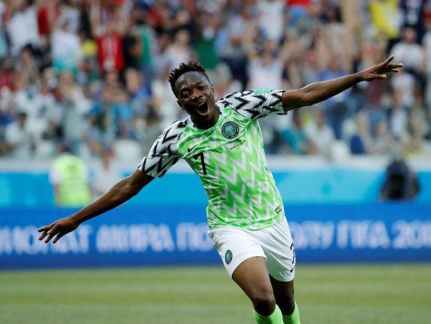 Nigéria fez 2 a 1 na Islândia e ajudou a Argentina a voltar a sonhar com a