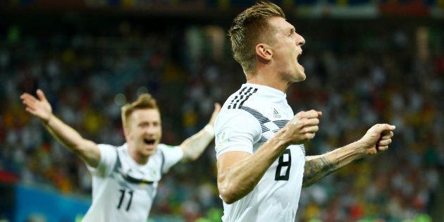 Virada da Alemanha no minuto final marca sábado na Copa da Rússia ... 7b91a01b8f5f1
