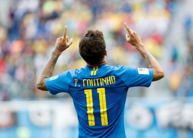 Coutinho marcou gols nos dois primeiros jogos do