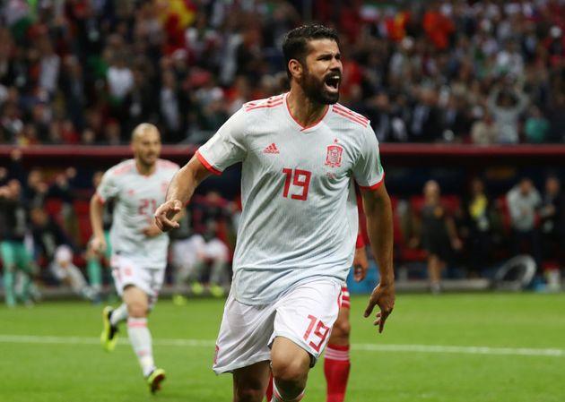 Diego Costa balançou as redes 3 vezes e é o principal goleador da Espanha na Copa até