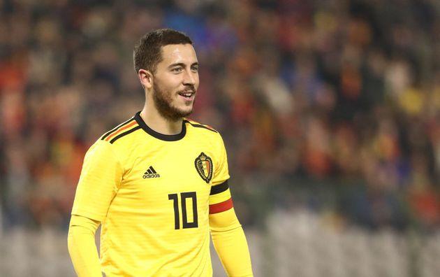 Eden Hazard marcou 3 gols na Copa e ficou entre os principais