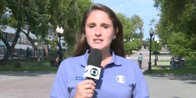 Júlia Guimarães passou por situação constrangedora em entrada ao