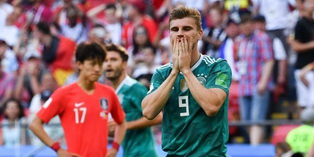 Atacante da Alemanha não acredita no que aconteceu nesta quarta  campeã  mundial de 2014 está 501e73ececfba