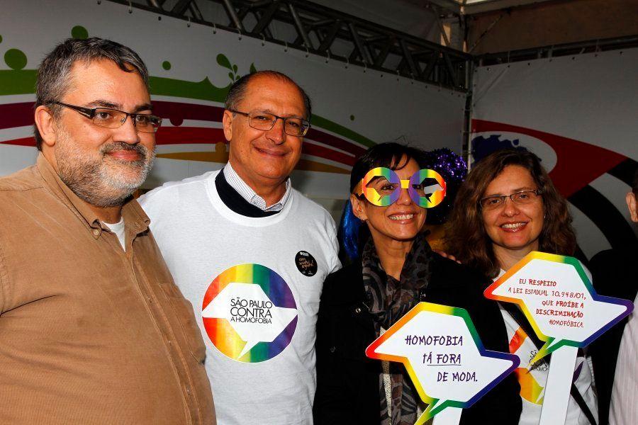 Geraldo Alckmin (PSDB) na Feira Cultural LGBT de