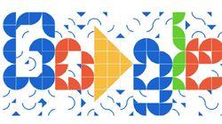 Um doodle de azulejos! A homenagem do Google aos 100 anos de Athos
