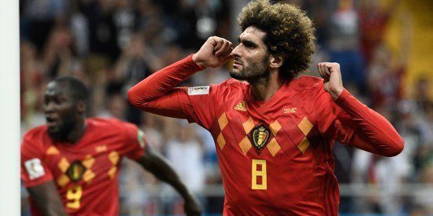 Fellaini marcou o segundo gol da Bélgica e participou da histórica