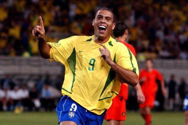 Ronaldo marcou um dos gols da Seleção na vitória sobre a Bélgica em