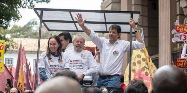 PT quer rodízio de representantes incluindo Haddad para representar Lula em