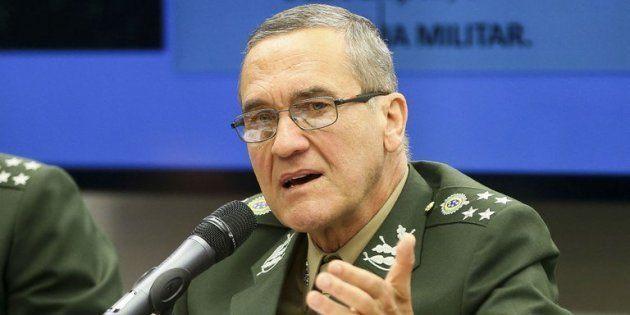 General Eduardo Dias da Costa Villas Bôas, comandante do Exército
