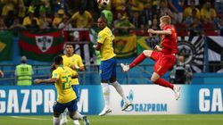 Bélgica abre o placar contra o Brasil na Copa da