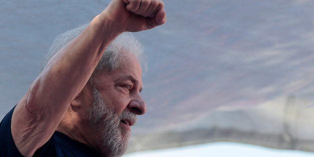 Lula está preso desde o dia 7 de abrilna Polícia Federal, em