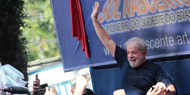 O ex-presidente Luiz Inácio Lula da Silva está preso desde 7 abril na Polícia Federal, em