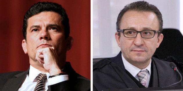 Sérgio Moro e Rogério Favreto. Os argumentos contrários aos magistrados incluem questionamentos sobre...