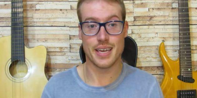 Marcos Petry tem um canal no Youtube em que compartilha vídeos sobre o
