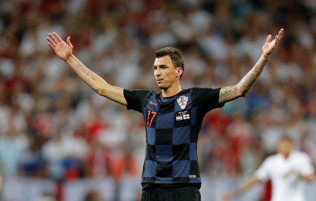 Mandzukic foi o grande herói da virada e da classificação croata em cima da