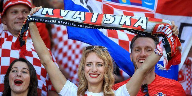 Torcedores da Croácia