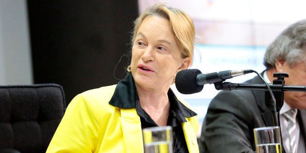 Defensora da flexibilização do uso de armas, Magda Mofatto (PR-GO) é uma das apoiadoras presentes nas...