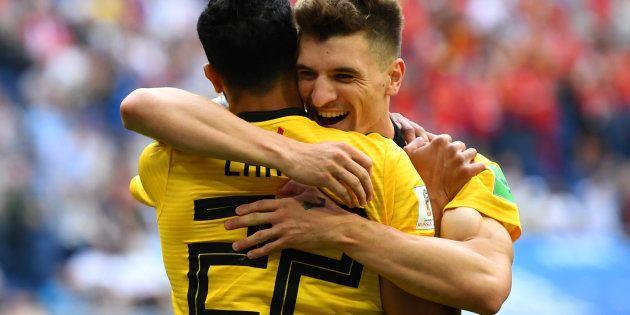Meunier comemora gol que abriu caminho para conquista da 3ª colocação da Copa à
