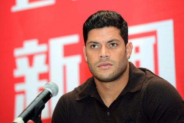 Hulk assinou contrato milionário com time chinês em julho de