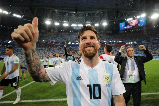 Lionel Messi não foi bem na Copa, mas segue como mais bem