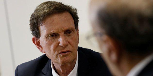 Prefeito do Rio de Janeiro, Marcelo Crivella também teve os bens bloqueados, mas em outra