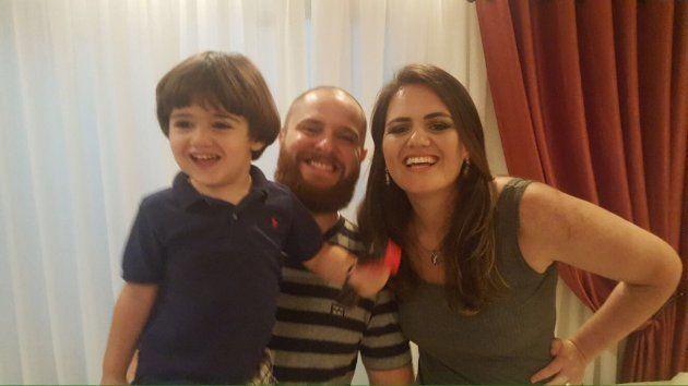 Isaac, Henrique e Carolini