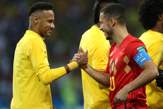 Derrota para a Bélgica, de Eden Hazard, foi a segunda da Seleção sob o comando de