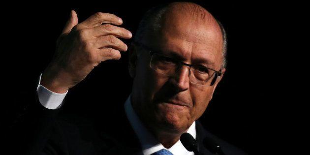 """""""Quem escolheu o presidente Temer para vice foi o PT e seus aliados"""", afirma Geraldo Alckmin"""